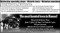 The most haunted town in Kansas...