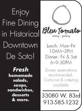 Enjoy fine dining in historical downtown de soto...