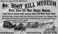World class old west history museum...