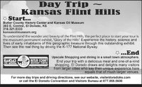 Day Trip, Kansas Flint Hills...