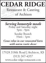Restaurant & Catering of Atchison...