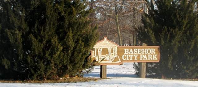 Basehor PRIDE members plan to use grant funds to spruce up the trails in Basehor City Park later this year.