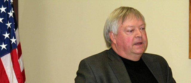 County Commissioner Dean Oroke