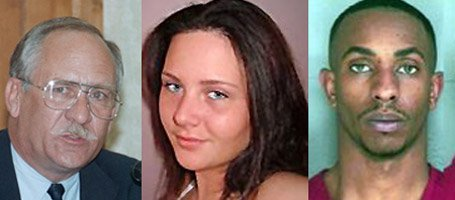Leavenworth County Attorney Frank Kohl, left, is trying to decide whether to file charges in the death of the unborn daughter of Olivia Jackson, center. Sedale Fox, 23, Lansing, at right, already faces murder charges in Jackson's death Jan. 23 in Lansing.