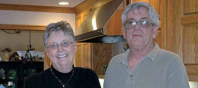 Cleo and John Langley of rural Baldwin City have been long-time supporters of the Chocolate Auction. The Baldwin Community Arts Council's 20th event is set for Sunday at Baldwin High School to raise money for the arts. It starts at 1 p.m.