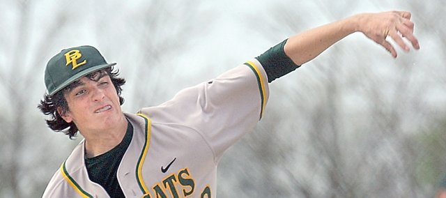 Tyler Henley is the ace for Basehor-Linwood High School.