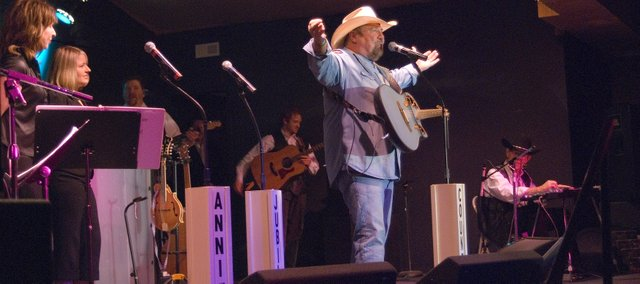 "Members of the Annie's Country Jubilee band performed along with Johnny Lee for two shows Saturday at Annie's Country Jubilee. Lee performed some of his greatest hits such as ""Lookin' for Love,"" ""The Yellow Rose,"" and ""Hey Bartender."""
