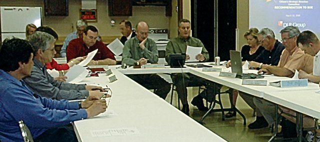 The Baldwin City Council and Baldwin School Board held a joint meeting April 21 to discuss the district's upcoming bond issue and what the city plans to do in regards to shared efforts.