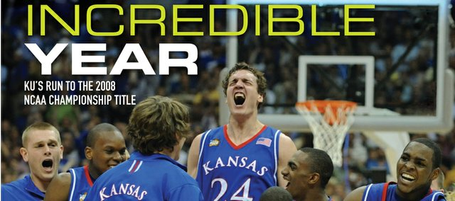 """An Incredible Year"" documents Kansas University's 2007-08 men's basketball season."