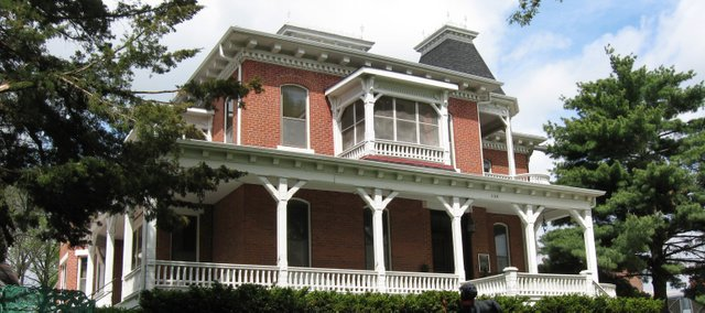 "The Carroll Mansion at 1128 Fifth Ave., Leavenworth, is one of the historical centers in Leavenworth County that could be funded under county ""cultural grants"" in 2009."