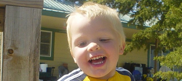 Two-year-old Kurtis McCullough was recently diagnosed with an inoperable brain tumor.