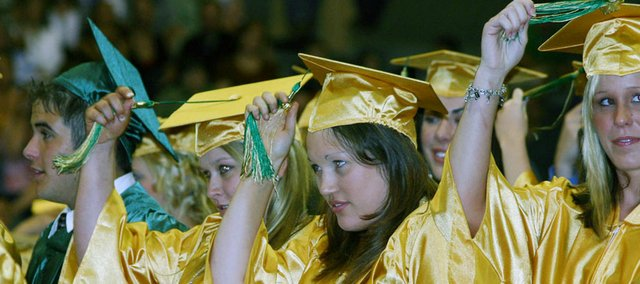 Graduation is Thursday night, May 15, at Basehor-Linwood High School. 