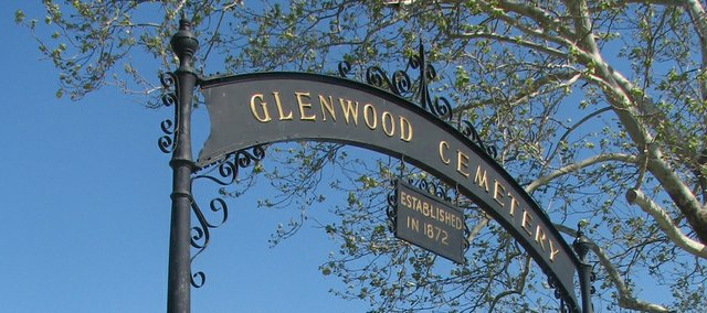Graves of veterans in Glenwood Cemetery will be decorated with flags for Memorial Day. The tradition is carried on each year by Basehor Veterans of Foreign Wars.