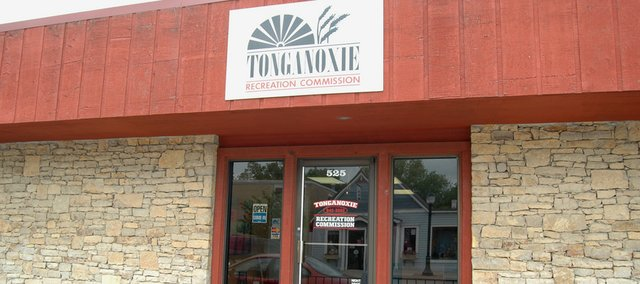 The Tonganoxie Recreation Commission office is located at 525 E. 4th Street.