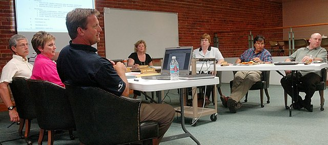 The Baldwin Board of Education met Monday night to discuss several issues, including student transfers and elementary administrators.