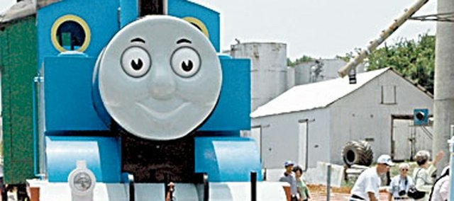 Thomas the Tank Engine's annual two-weekend run begins Friday at the Midland Railway. He will be there Saturday, Sunday and next weekend for the same three days.