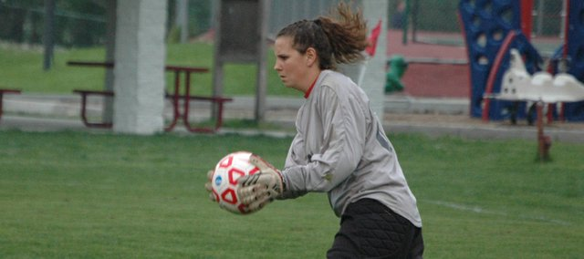 Sarah Flaherty, who played soccer and softball at Tonganoxie High, will continue down that path at Butler Community College.