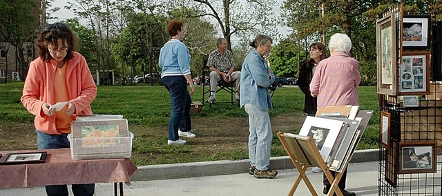 The Baldwin Community Arts Council held its inaugural Art Walk of the season May 14 in conjunction with the downtown celebration. The second Art Walk of the summer will be tonight from 6-8 p.m.