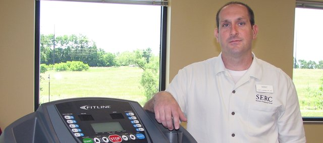 Jason Langford opened his business in Lansing to serve residents of Leavenworth County.