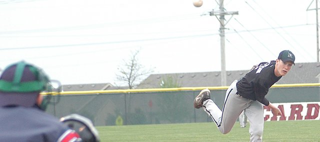 Daniel Peterson, a junior-to-be, will be the most experienced pitcher returning for De Soto next Spring. Peterson was the top pitcher on the Wildcats' staff over the summer, as the team compiled a 13-3-1 record.