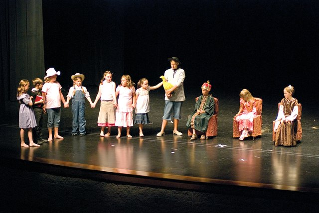 "The Tonganoxie Recreation Commission's summer theater program put on ""The Golden Goose"" at the Tonganoxie Performing Arts Center on Saturday."