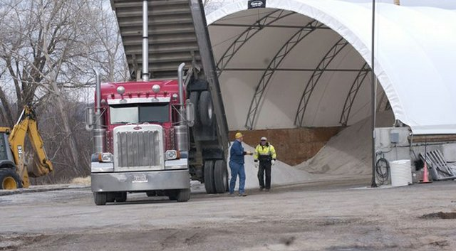 Although the city still has salt stored delivered late last winter, De Soto and cities its size are having a difficult time finding salt for the winter driving season. De Soto is taking the lead in forming a collective in the hope the combined buying power of six or more cities can interest suppliers.