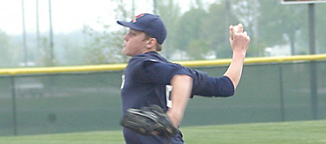Drew Noble had one of his strongest outings of the year for the Eudora Post No. 14 Cardinals in the first round of consolation bracket play at the AA American Legion State Tournament. The Cardinals went 1-2 and finished tied for fifth place.
