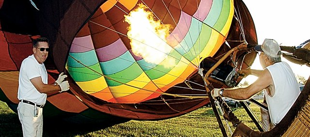 Last year's balloon launch at the Vinland Fair was so popular that it's making a return voyage this year on Saturday and Sunday.