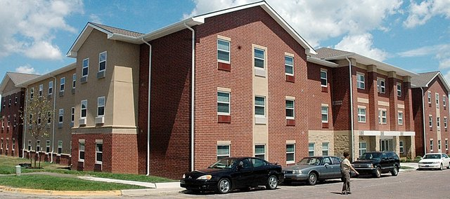Baker University's new Living and Learning Center is awaiting its students to move in during the next two weekends. An ice cream social and open house from 4:30 p.m. to 6 p.m. on Aug. 21 will help commemorate the opening of the new hall.