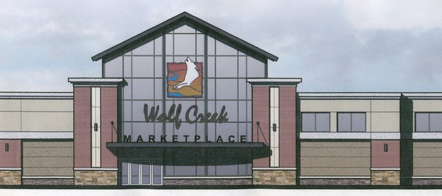 Wolf Creek Marketplace rendering.