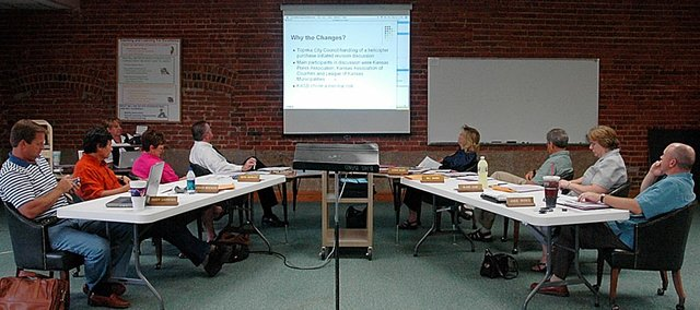 The Baldwin Board of Education sat through a webinar program about changes in the Kansas Open Meetings Act at its Aug. 11 meeting.
