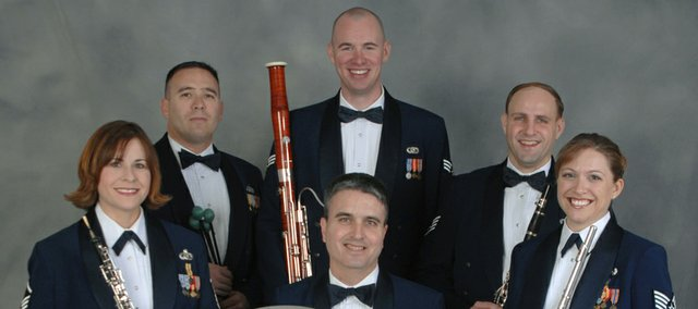 The U.S. Air Force&#39;s Winds of Freedom ensemble
