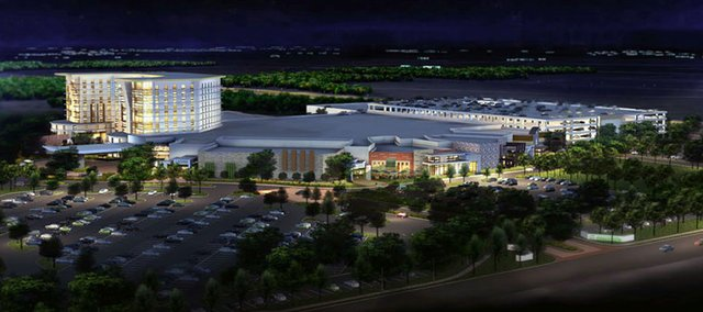 Golden Heartland Inc., wants to build this Golden Gaming Resort and Casino in Edwardsville.