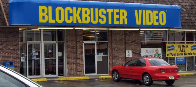 The Blockbuster store in Leavenworth offers a new transfer service for customer's home movies.