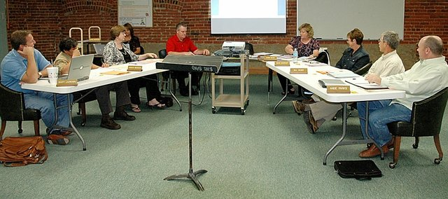 On Monday night, the Baldwin Board of Education discussed its upcoming bond issue and the consequences if the November election fails.