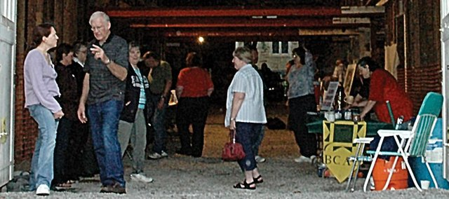 """The Baldwin Community Arts Council will have its Art Walk finale, the always popular """"Cuppa Java,"""" tonight in downtown Baldwin City starting at 7 p.m. Last year's event had to be moved inside the Lumberyard Arts Center because of threatening weather. Tonight's forecast calls for none of that."""
