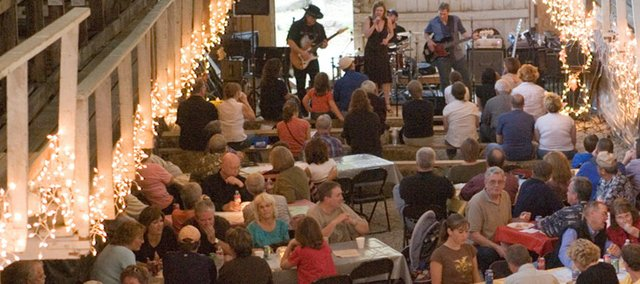The fifth-annual Blues and Barbecue fundraiser for the Lumberyard Arts Center Project is Saturday, beginning at 6 p.m. at the lumberyard. It will again feature plenty of good food and music