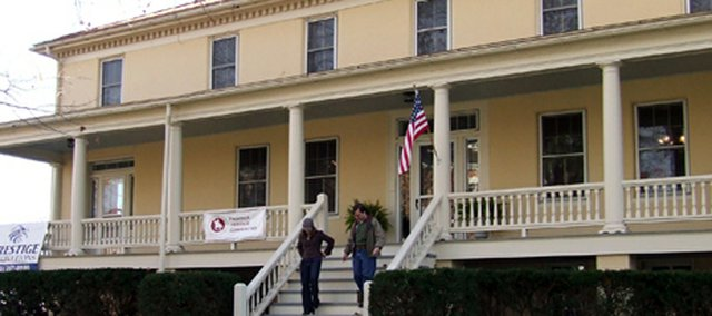 The Rookery at For Leavenworth — the oldest residence in Kansas — recently received a facelift. One of the home's former residents was Douglas MacArthur.