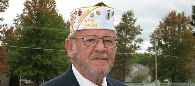 Fred Box, Basehor, fought in the Vietnam War and now is commander of the Basehor VFW.
