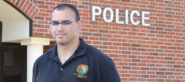 Ben Ontiveros was raised in the small town of Sharpsburg, Iowa, and grew up quickly as an intelligence analyst with the Army in the first Gulf War. Now a police captain in Lansing, Ontiveros said his time in Iraq was filled with memorable times.