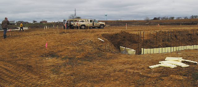 Construction has started on the site of the new Wolf Creek Marketplace, a grocery store that will be in Wolf Creek Junction.The City Council is in the process of approving improvement projects on the roads surrounding the development district.
