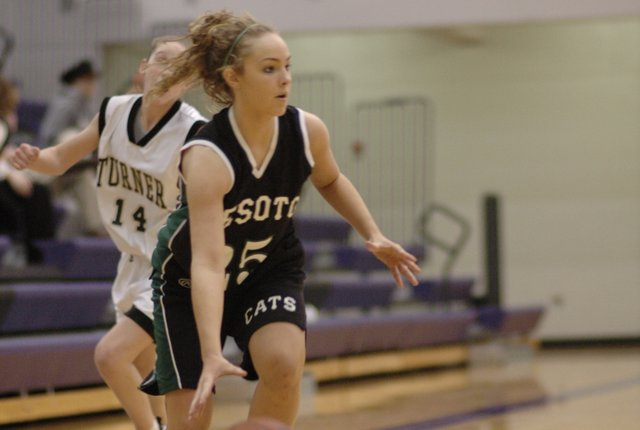 Kelsey Fisher scored 20 points in De Soto's 51-30 win last Thursday at Maranatha.