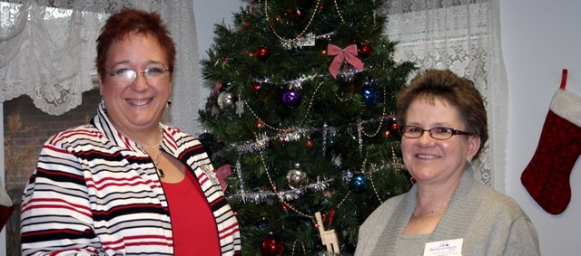 Former Medicalodges, Eudora administrator Tami Klinedinst handed over the reigns of the facility on Dec. 1 to Donna Fox. Klinedinst will stay on with the company in a corporate capacity.