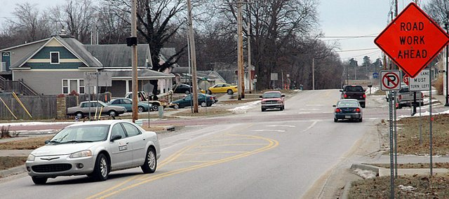 Sixth Street south of High Street reopened to through traffic Friday. Although it is open now, work will continue through the spring until the project is completed.