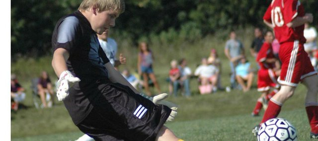 Mitch DeHoff was recently named to the Journal-World All-Area Boys Soccer team for his goalkeeping play in 2008. The Tonganoxie High junior has been honing his craft since the age of 6.