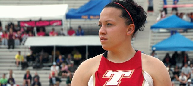 Roxi Grizzle is No. 1. Grizzle won her second consecutive Class 4A state championship in the girls javelin in 2008, and was named Kansas Girls Track and Field Athlete of the Year by Gatorade and RISE Magazine for the second year in a row, making her The Mirror's top sports story of the year.