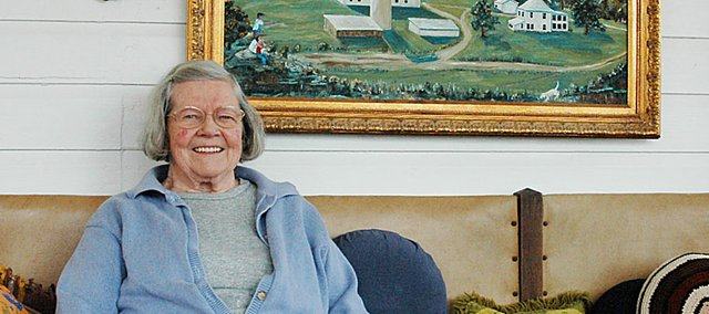 Longtime Baldwin City resident Margaret Counts, 91, believes in doing everything she can to stay healthy. She plans to attend the seventh-annual Community Wellness Festival on Saturday morning. She has attended the festival all six years.