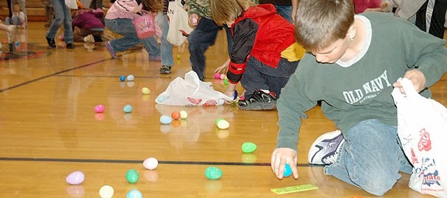 Last year, the annual Easter Egg Hunt was moved inside for the second straight year. Event organizers are hoping to host it outside on Baker University's campus Saturday. The event begins at 10 a.m. with the egg hunts starting at 11 a.m.