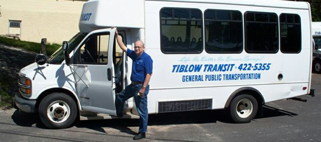 Dana Wright, pictured, is a bus driver with the Tiblow Transit. Department head Rita Hoag discusses the transportation system and why it is so important to Bonner residents. To arrange for a ride with the Tiblow Transit, call (913) 422-5355.