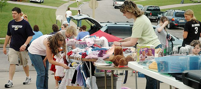 Baldwin City's annual city-wide garage sales will be taking over the town on June 6. The sales will begin at 8 a.m.